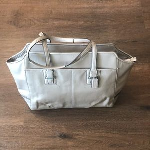 Coach F25205 Taylor Alexis Leather Tote